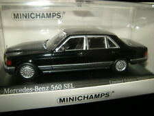 1:43 Minichamps Mercedes-Benz 560 SEL 1990 black Nr. 943039304 in OVP Limited