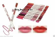 Unbranded Waterproof Assorted Shades Lip Liners