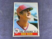 L5-83 BASEBALL CARD - CARL YASTRZEMSKI BOSTON RED SOX - 1979 TOPPS - CARD #320