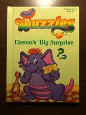 WUZZLES - ELEROO'S BIG SURPRISE by DOUGLAS HUTCHINSON - HASBRO - H/B