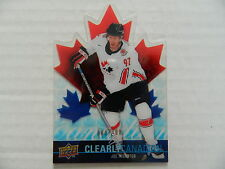 Upper Deck 2009-10 Clearly Canadian Joe Thornton CAN-TH #009/100