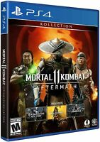 Mortal Kombat 11 Aftermath Kollection P4 in stock !! Usa Physical Disk
