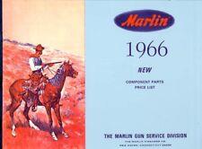 Marlin 1966 Arms Component Parts Gun Catalog
