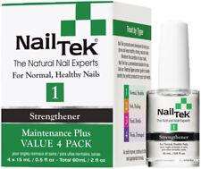 Nail Tek Strengthener Maintenance Plus 1 - (Value 4 Pack) -  55806