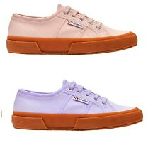 SUPERGA 2750 COTU CLASSIC GUM ROSA VIOLA CARPE SHOES ZAPATOS SCHUHE CHAUSSURES