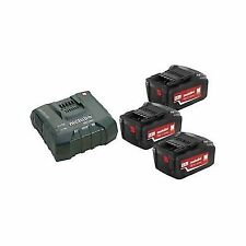 Metabo 685061000 18v 5.2ah Batteries X 3 and ASC Ultra Fast Charger
