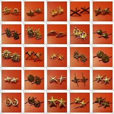 Authentic Soviet Army Uniform Branch Insignia Badges Shoulder Board/Collar Stars
