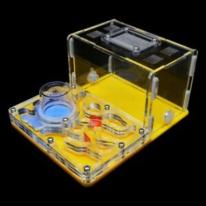 Yellow Acrylic Ant Farm Ant Nest Ant House for Pet Anthill Glass Moisturizing