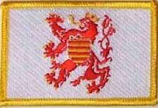 Aufnäher Limburg Belgien Fahne Flagge Aufbügler Patch 8 x 5 cm