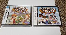 2 nintendo ds games harvest moon lot
