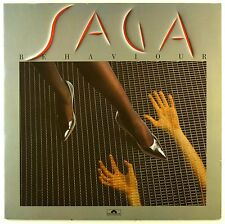 "12"" LP - Saga  - Behaviour - #L7672 - washed & cleaned"