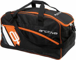 Arctiva Snow Snowmobile GEAR BAG (Black/Orange)