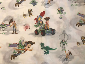 Pottery Barn Kids Disney Pixar Toy Story Full Fitted Sheet Organic Cotton