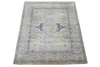 "8X10 Oushak Hand-Knotted Wool Area Rug Gray Oriental Carpet (8'2"" x 9'10"")"