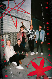 """Bring Me The Horizon - Music Poster (Red Eye / Fence) (Size: 24"""" X 36"""")"""