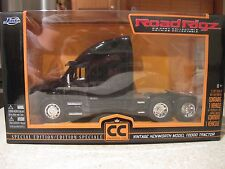 KENWORTH T2000 BLACK TRACTOR TRAILER TRUCK SEMI 1:32 DIE CAST BOXED LIMITED