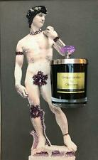 Luxury scented candle lavender