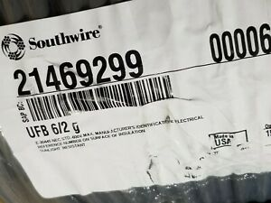 Southwire 6/2C w/ground UF-B Direct Burial Underground Feeder Cable /25ft