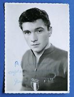 Sport ciclismo - Fotografia con autografo ciclista Giancarlo Martini - 1958 ca.