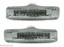 2 CLIGNOTANT REPETITEUR BLANC BMW SERIE 5 E39 95-03 520D 530D 525 TDS 530 D XD