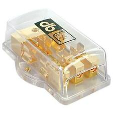 DB Link FB438 Power Distribution 3 Position AGU Fuse Block 4 Ga. In/(3)8 Ga. Out
