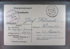 Camp Oflag IID Grossborn 1943 POW Prisoner of War Kriegsgefangenenpost (K11b)