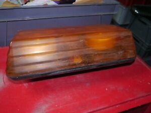 TRUCK LORRY VAN LED ROOF ROTATING BREAKDOWN LIGHT BEACON HAZARD ORANGE AMBER