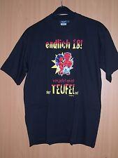 Hanes Fun Shirt Endlich 18 Teufel los Geschenk Geburtstag Partygag schwarz L neu