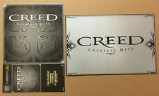 Scott Stapp Creed Rare 2004 Double Sided Promo Poster Flat of Hits Cd 12x18 Mint