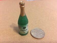 Vintage Dollhouse Miniature Plastic Champagne Bottle