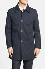 BARBOUR Stirrup Weatherproof Breathable Trench Coat Jacket NAVY NWT $499 Size L