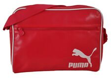 Puma Spirit Originals Reporter Womens Messenger Bag Shoulder Bag Pink