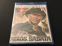 Adios Sabata (Blu-ray, 1971) Yul Brynner, Gianfranco Parolini, Spaghetti Western