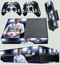 XBOX ONE Skin FIFA 18 RONALDO FOOTBALL SOCCER SPORT Sticker + Pad decals