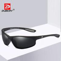 DUBERY Men Polarized Sunglasses Sport Outdoor Driving Riding Fishing Glasses New
