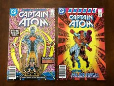 Captain Atom (1987) #1 NM & Annual #1 NM! 2x Scarce Canadian Price Variants!