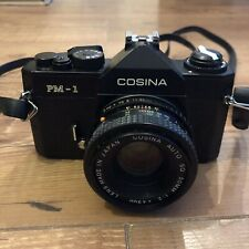 Cosina PM-1 35mm Film SLR  Camera with Cosina SQ 50mm 1:2 Lens