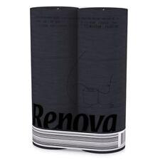 Renova Black Toilet Paper Rolls 6 Pack