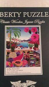 Liberty Puzzles Wooden Jigsaw - La Paz - 475 pieces, excellent condition