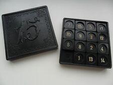 Vintage Carbolit Legendary Toy Game Logic 15 Fifteen puzzle  USSR