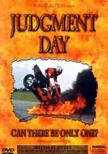"""Judgment Day DVD Motorbike Stunt Trick - Can There Be Only One """" BARRACUDA FILM"""