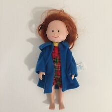 """Sweet 8"""" Madeline Doll by Eden With Coat and Uniform"""