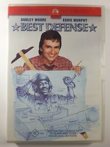 BEST DEFENSE - DVD - R18+ Movie -1980s Comedy-Dudley Moore-Eddie Murphy