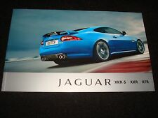 JAGUAR XKR-S, XKR COUPE/CONVERT, XFR UK SALES BROCHURE JUNE 2011 NEW OLD STOCK