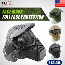 Tactical Airsoft Full  Face Protection Safety Mask Guard high quality 2017 New