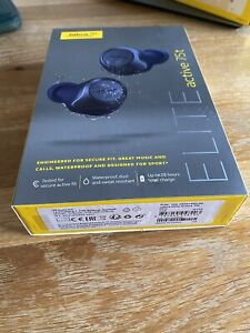 Jabra Elite Active 75T In-Ear Wireless Headphones - Navy