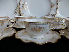 ROYAL CROWN DERBY- ROYAL ST. JAMES- CUP & SAUCER(S)- EXCELLENT! RARE! GILT!