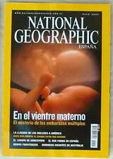 NATIONAL GEOGRAPHIC ESPAÑA - VOL. 20 - Nº 5 - MAYO 2007 - VER SUMARIO