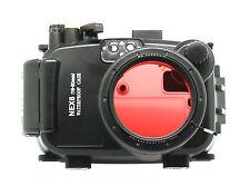 Meikon 40M Waterproof Underwater Housing Case Bag for Sony NEX-6 16-50mm Lens