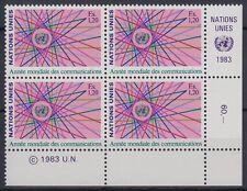 ONU Ginevra 1983 ** mi.111 comunicazione Communication [sr2130]